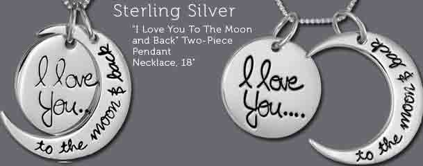Sterling Silver Two-Piece Pendant