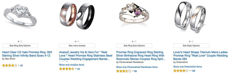 Diamond Promise Rings For Women