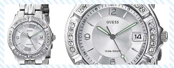 GUESS Women's Silver Watch