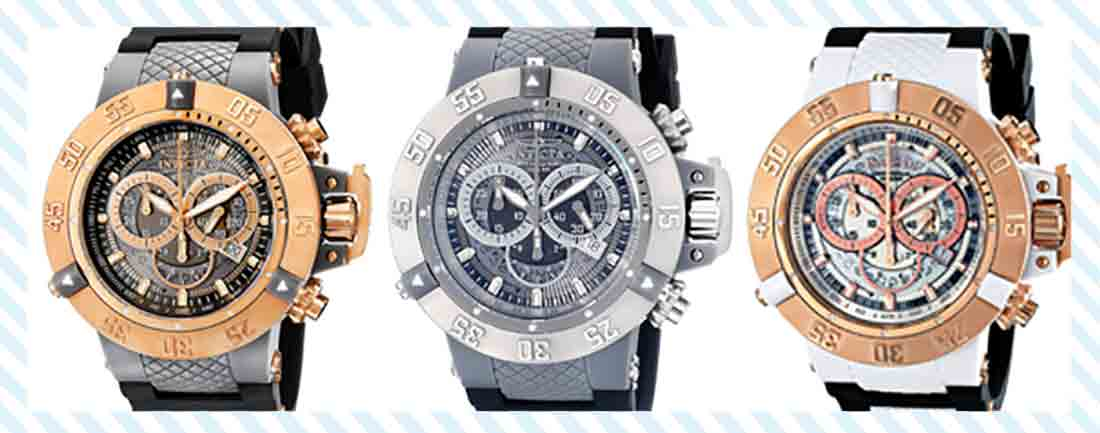 invicta reserve collection watches