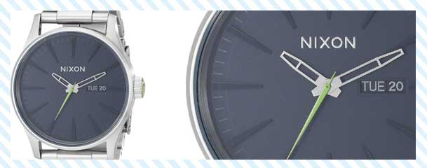 Nixon Men's Geo Volt Sentry SS Watch Review