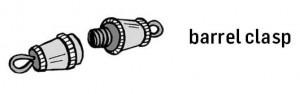 Barrel clasps