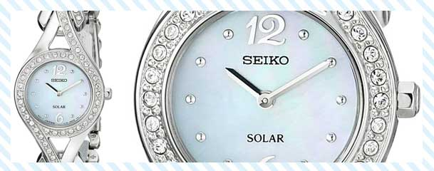Seiko Women's Silver-Tone Stainless Steel Watch Review