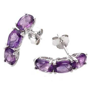 Vir Jewels Sterling Silver 3 Stone Earrings Review
