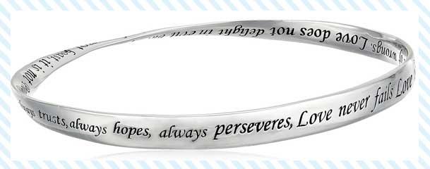 twisted bangle bracelet in sterling silver