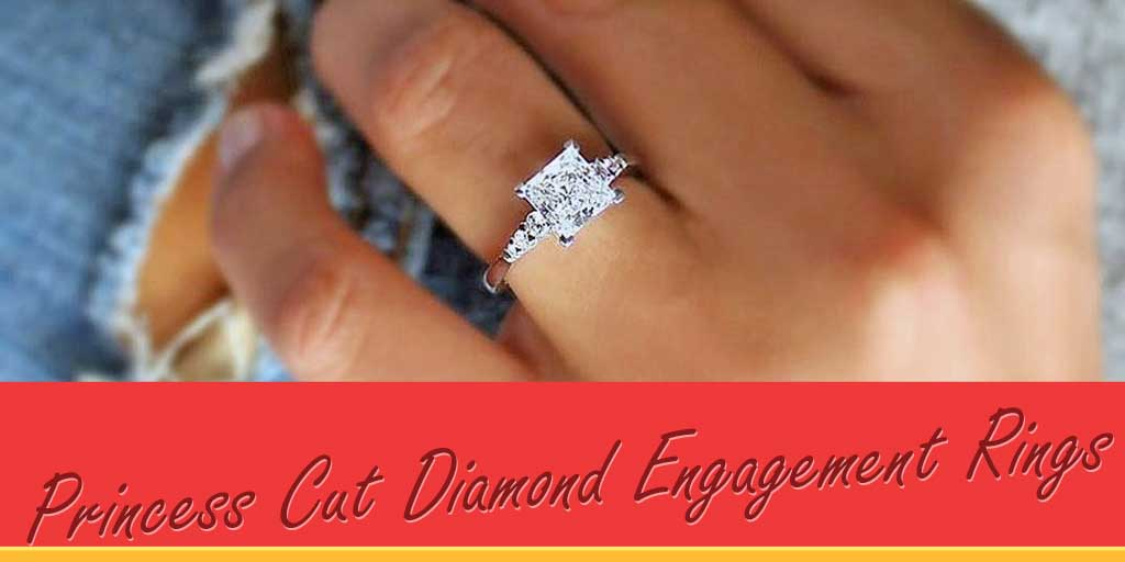 Princess Cut Diamond Engagement Rings