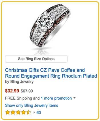 Levian Chocolate Diamond Rings