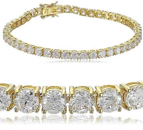 What Are Gold Cz Tennis Bracelets