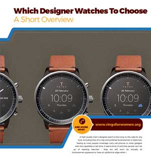 Designer Watches To Choose