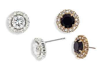 Diamond stud earrings-indestructible