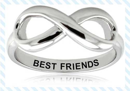 Friendship Rings women Between Friends