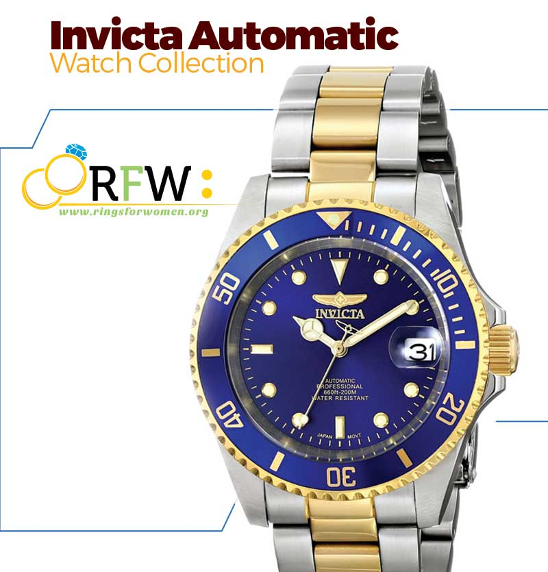Invicta Automatic Watches Collection