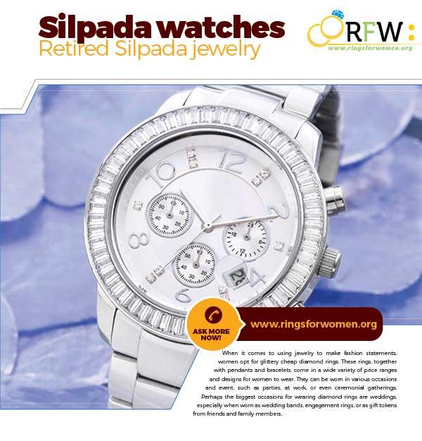 Retired Silpada watches