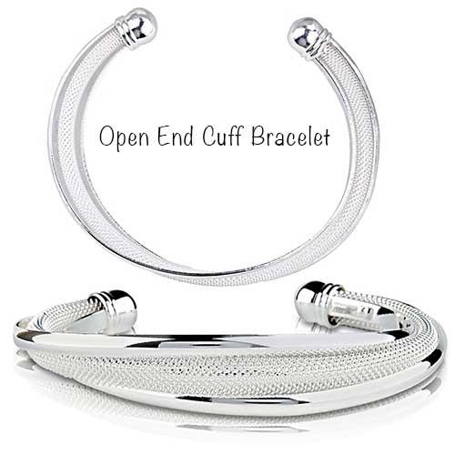 Silver Cuff Bracelet for Women
