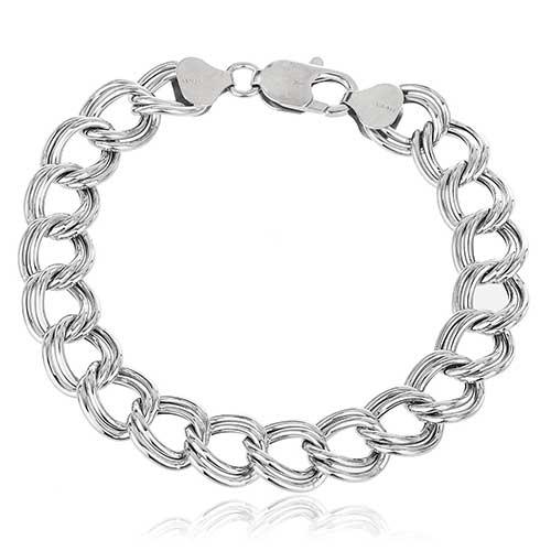 Double-Link Chain Bracelet