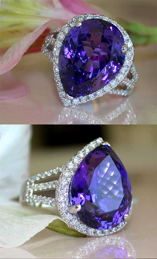 Tanzanite Rings – Add A Touch of Class