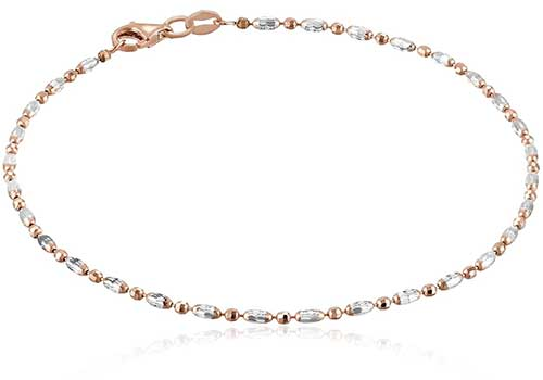 Mezzaluna Chain Anklet Ankle Bracelets