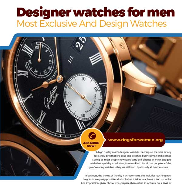 designer watches for men