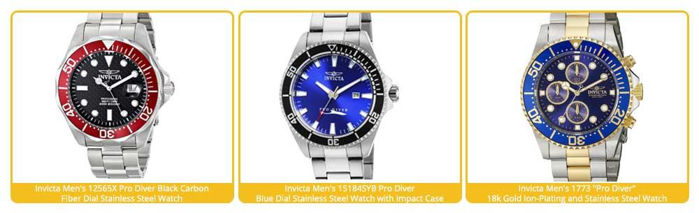invicta automatic watches