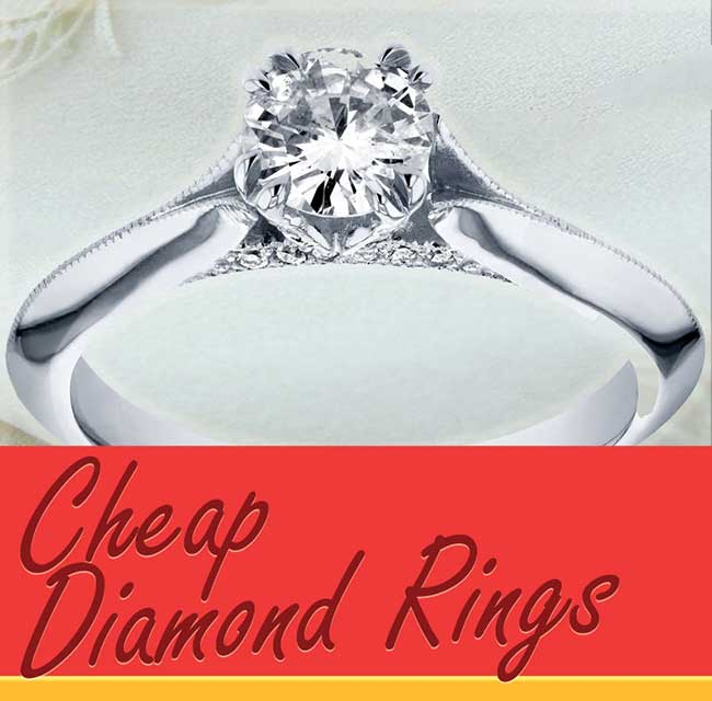 Cheap Diamond Rings For Women