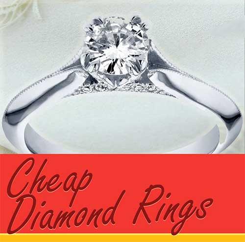 Cheap Diamond Rings