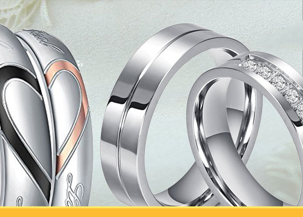 Couples Wedding Promise Ring