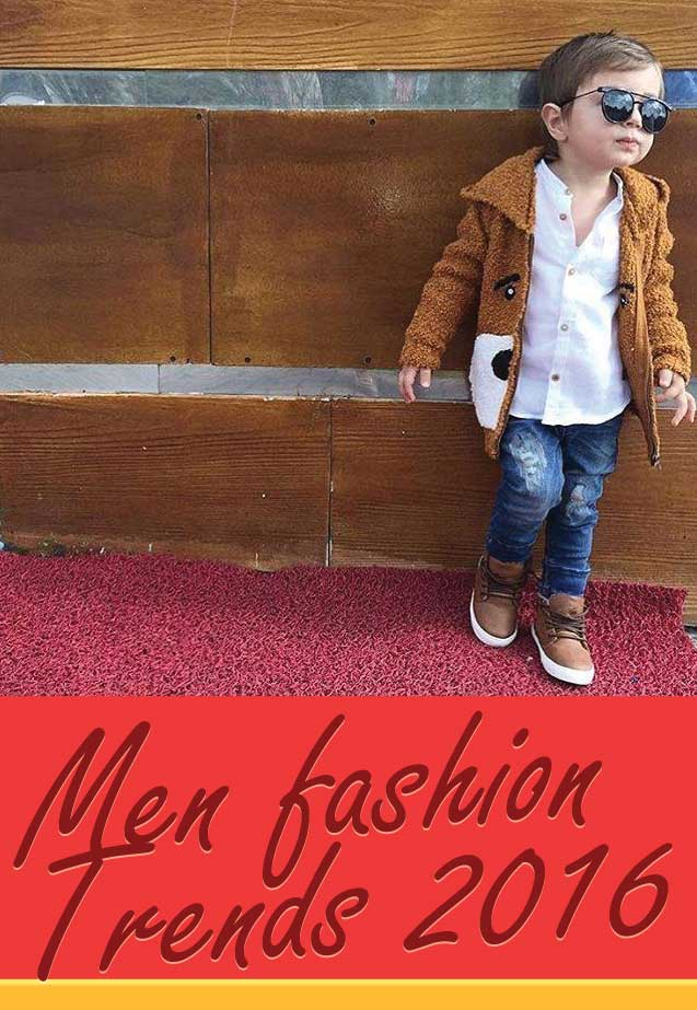 Men fashion trends 2016