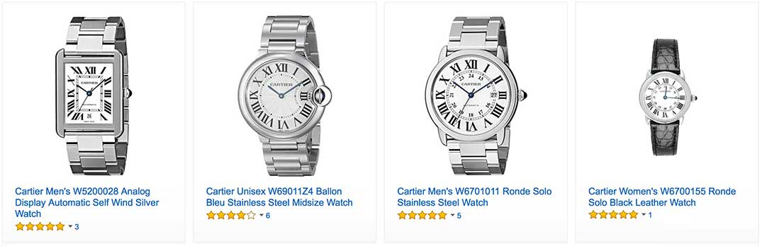cartier tank watches