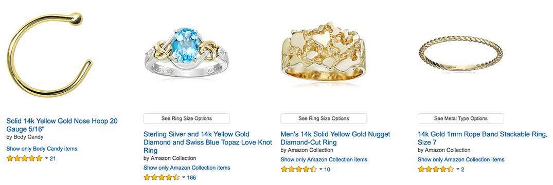 14k Gold Yellow Gold Ring