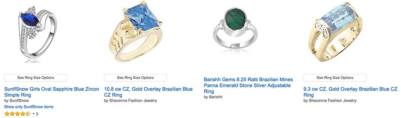 Brazilian Emerald Ring