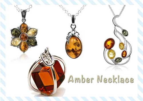 amber necklace benefits