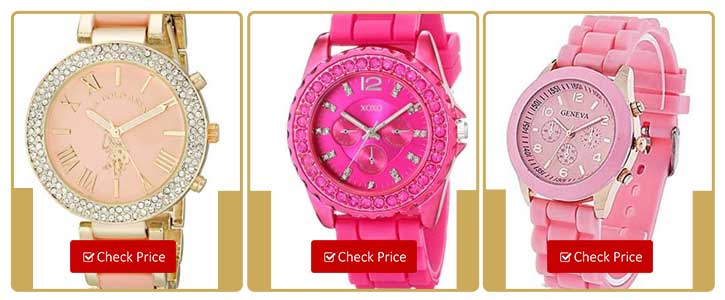 All About Pink Watches