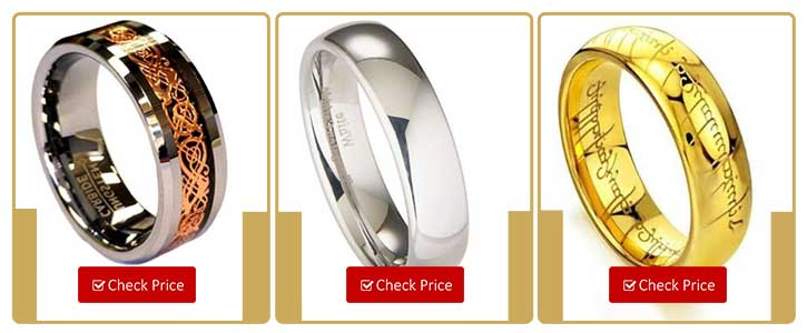Choose Tungsten Ring