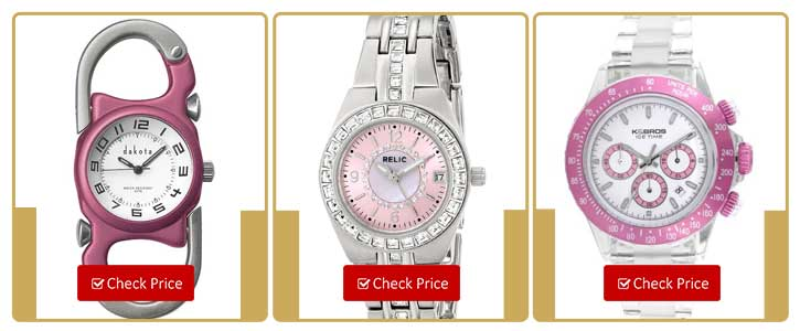 Top Five Pink Watches