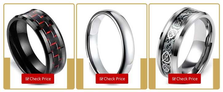 inlay tungsten ring