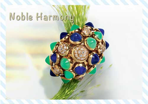 Amethyst, Emerald, Diamonds or Turquoise