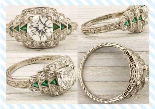 Antique Diamond Jewelry