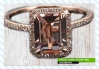 Chocolate Diamond Engagement Rings