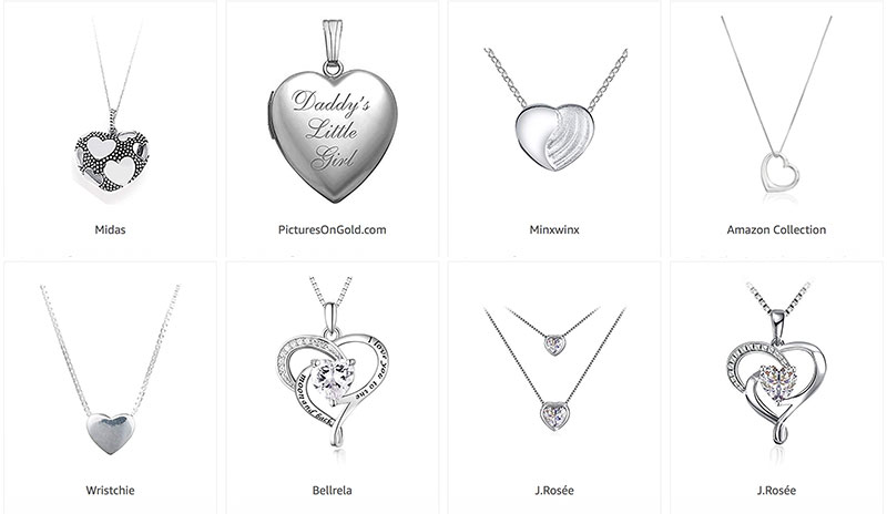 Heart Necklace And Other Gift Ideas