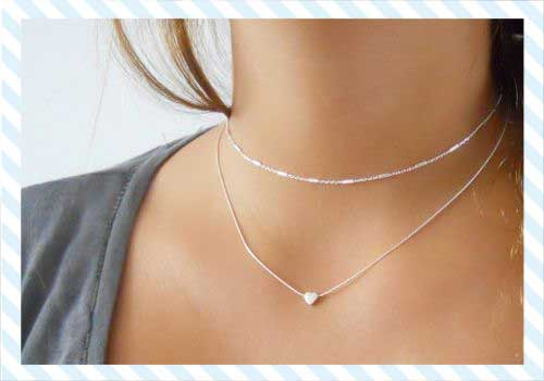 Why choose a sterling silver heart necklace?