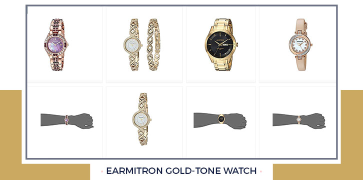 Armitron Gold-Tone Watch