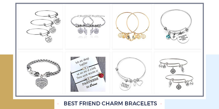 Best Friend Charm Bracelets