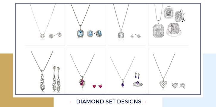 Diamond set designs