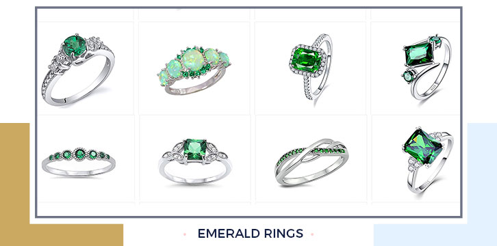Emerald Rings Every: Woman Wants One