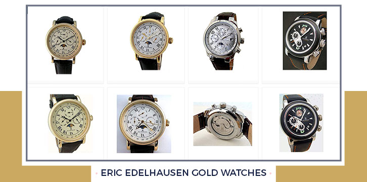 Eric Edelhausen Men's Gold Watch