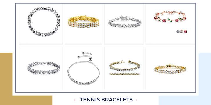 Gold Tennis Bracelets