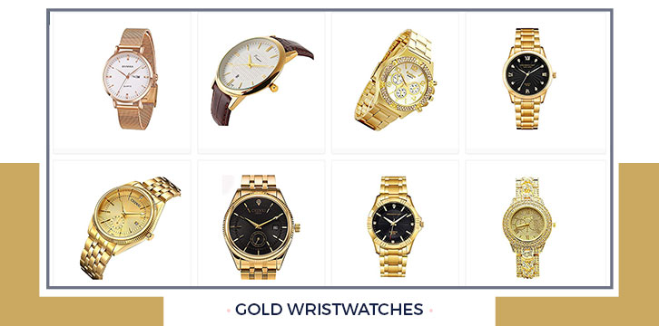 Gold Wristwatches