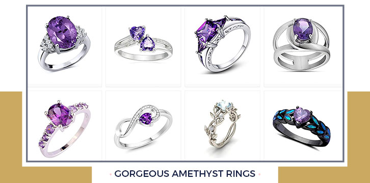Gorgeous Amethyst Ring