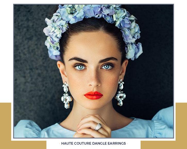 Haute Couture Dangle Earrings