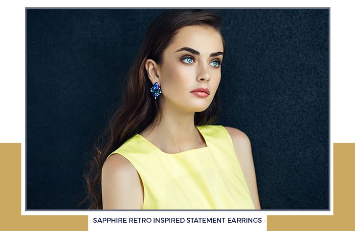 Retro Inspired Statement Earrings